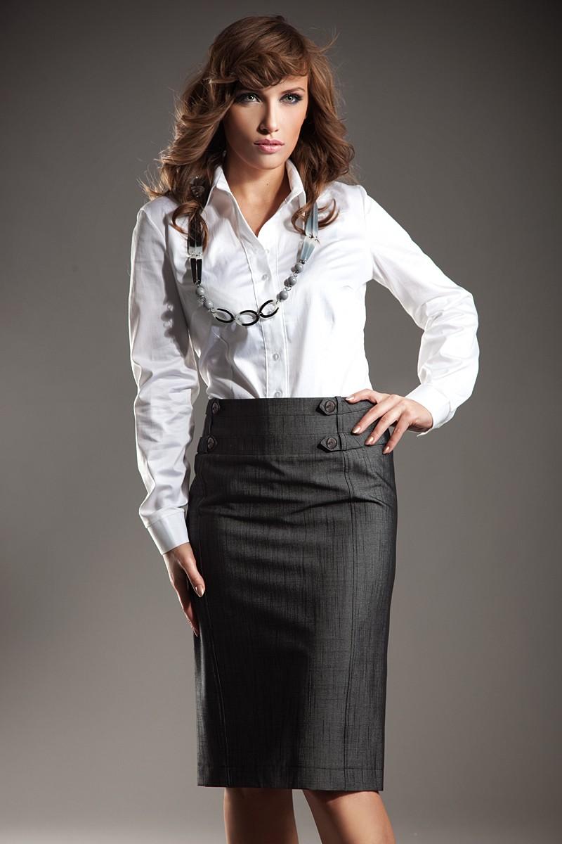 NIFE košile dámská K21 bílá - DG-MODA.CZ 38fdb2c92c