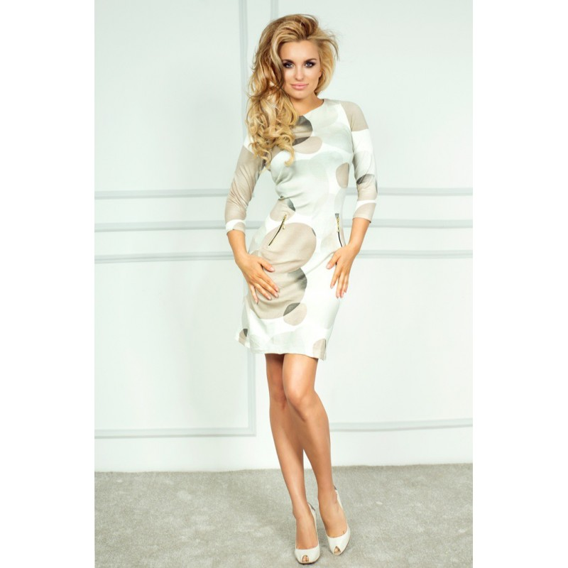 NUMOCO šaty dámské 38-4 zipy - DG-MODA.CZ 2673c5b126