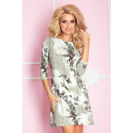 NUMOCO šaty dámské 38-10 zipy