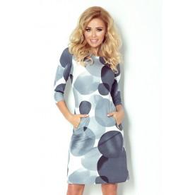 NUMOCO šaty dámské 38-12 kruhy