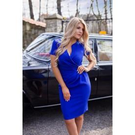 KARTES MODA šaty dámské KM56-2 s výstřihem do V