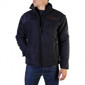 GEOGRAPHICAL NORWAY mikina pánská fleece USINE MEN s kožíškem