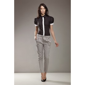 Kalhoty dámské šedé 36, 38, 40, 42, 44 NIFE